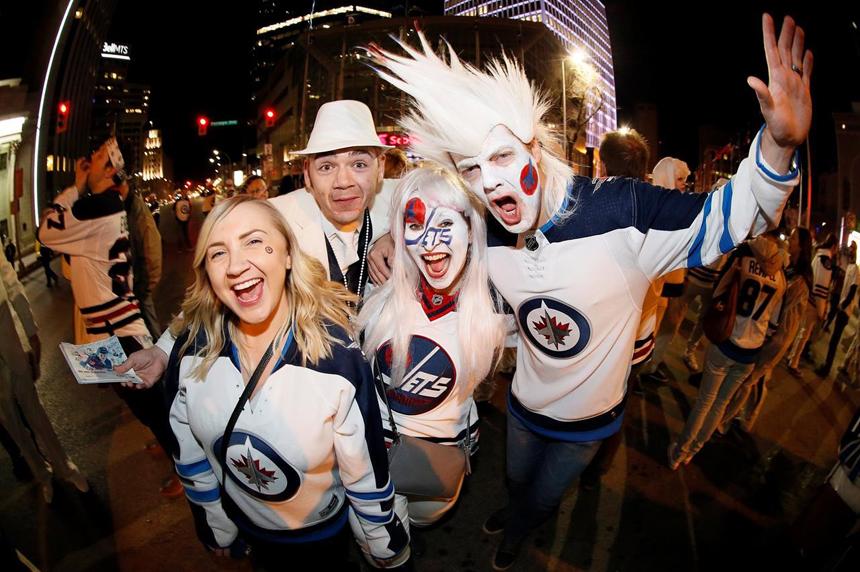 Organizers wonder how big crowds will get for Winnipeg Jets street party