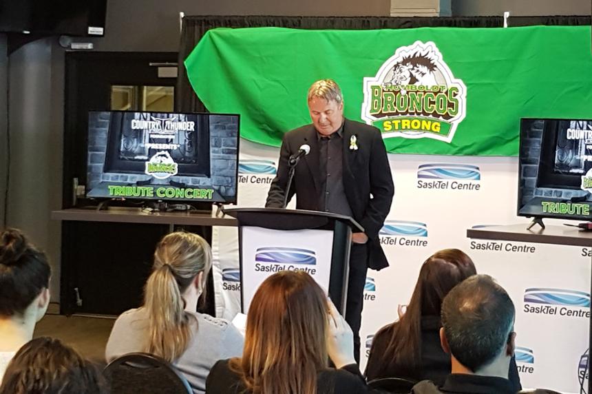 Humboldt benefit concert lineup announced in Saskatoon