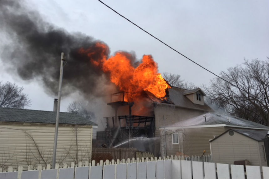 Firefighters respond to major house fire on Avenue C North