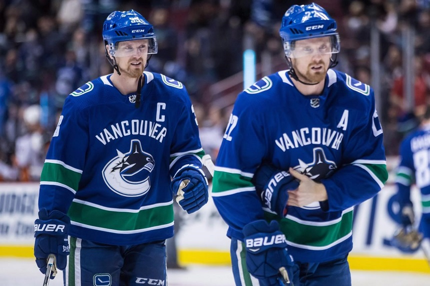 Henrik and Daniel Sedin say they will retire from the NHL after this season