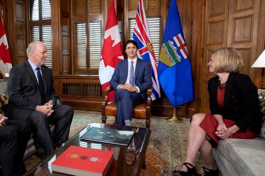 Trudeau pledges money, new law to make Trans Mountain happen, without details