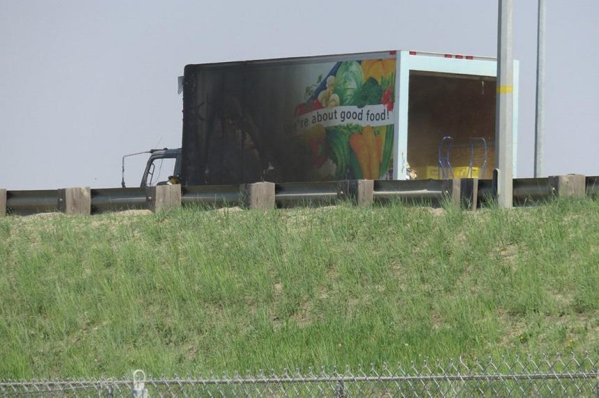 Idylwyld truck blaze burns school food program