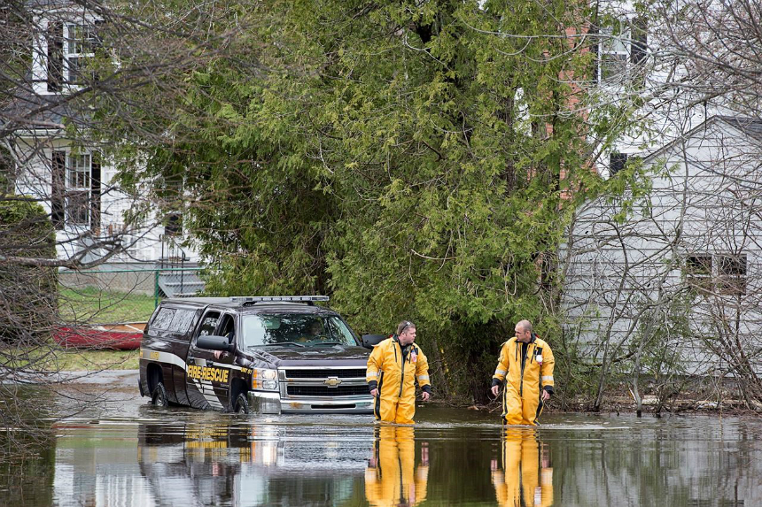 Flood waters expected to rise in parts of southern New Brunswick