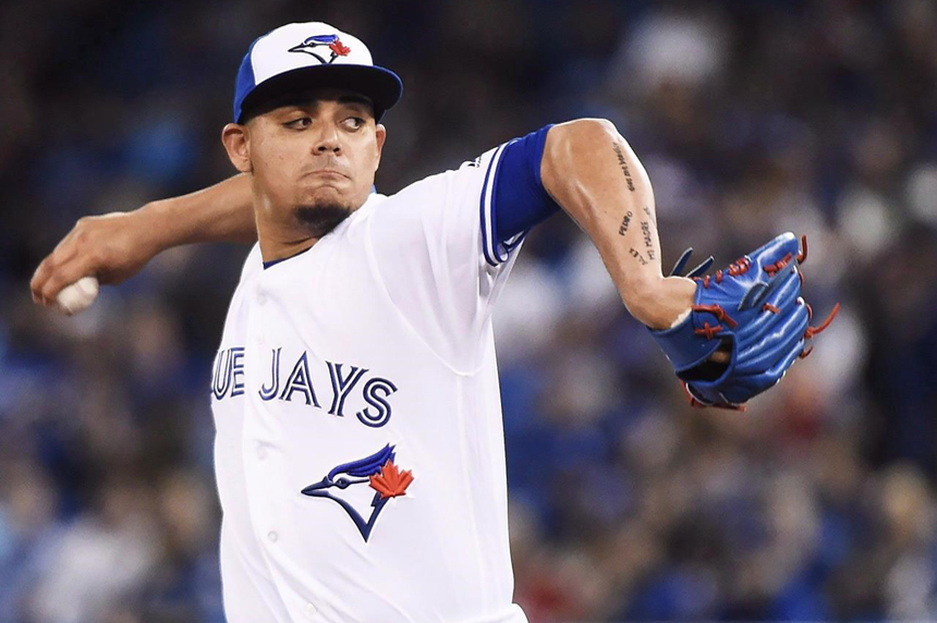 Jays closer Osuna charged with assault, placed on administrative leave