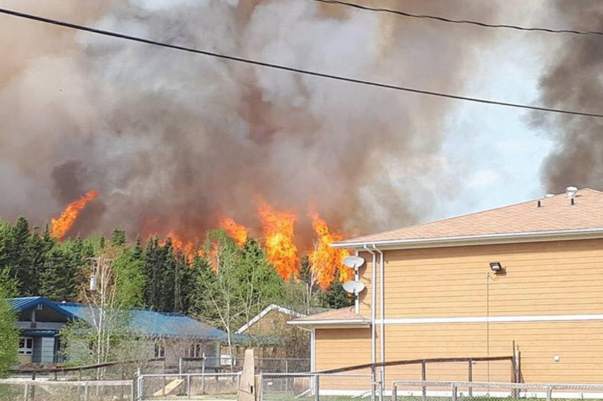 'Rally' wildfire contained, Sandy Bay blaze causes concerns
