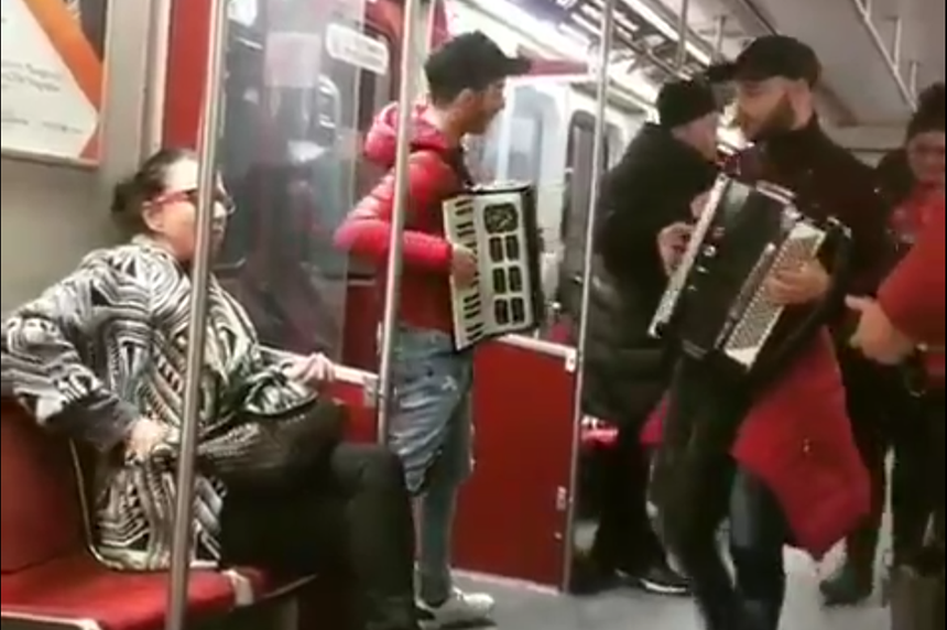 Toronto subway 'Decpacito'-playing busker busted by TTC officers