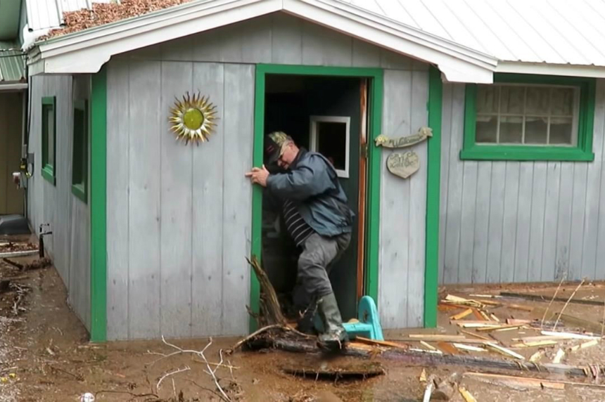 Infectious video shows laughter amid disaster of New Brunswick's floods