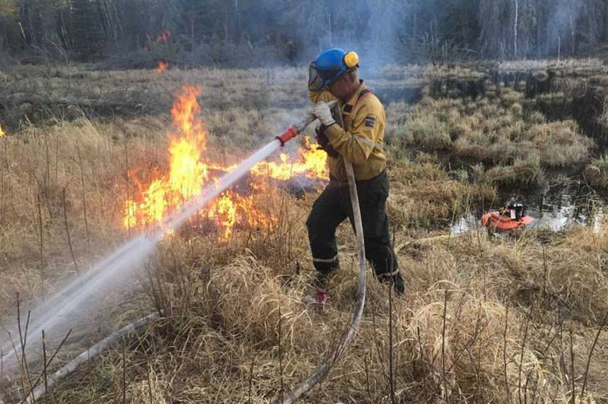 P.A. National Park wildfire grows, now 20 km away from Waskesiu