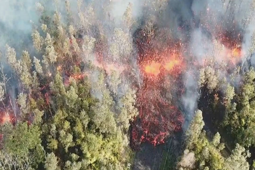Hawaii volcano erupts, spewing lava and forcing evacuations