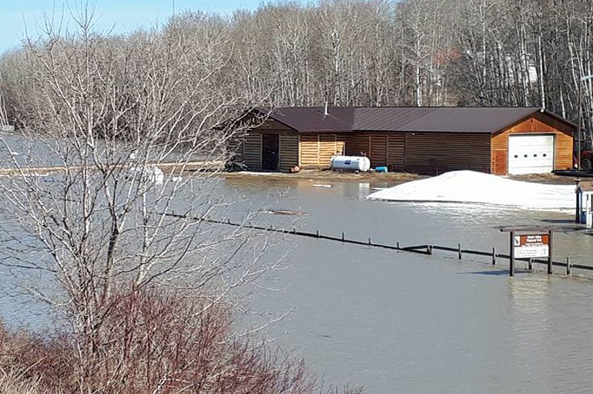 Flooding could delay opening of Wapiti Regional Park