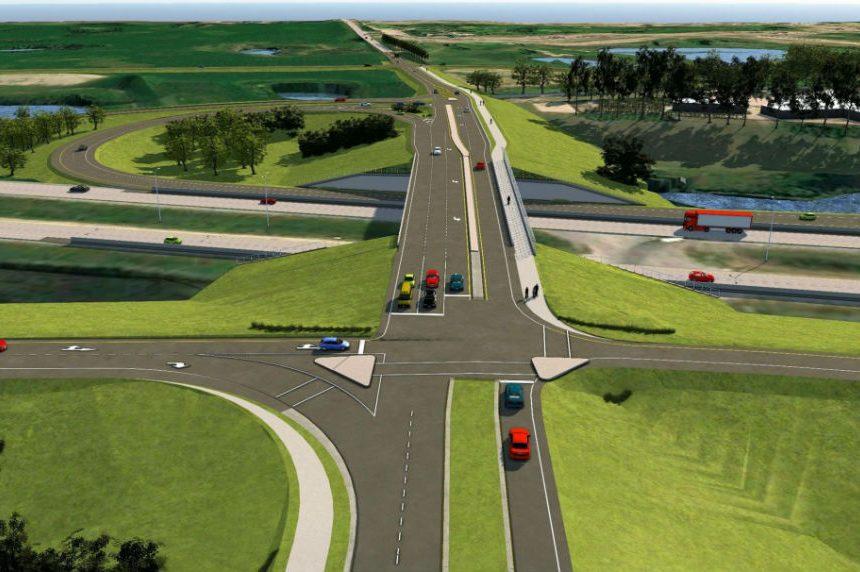 boychuk highway 16 interchange