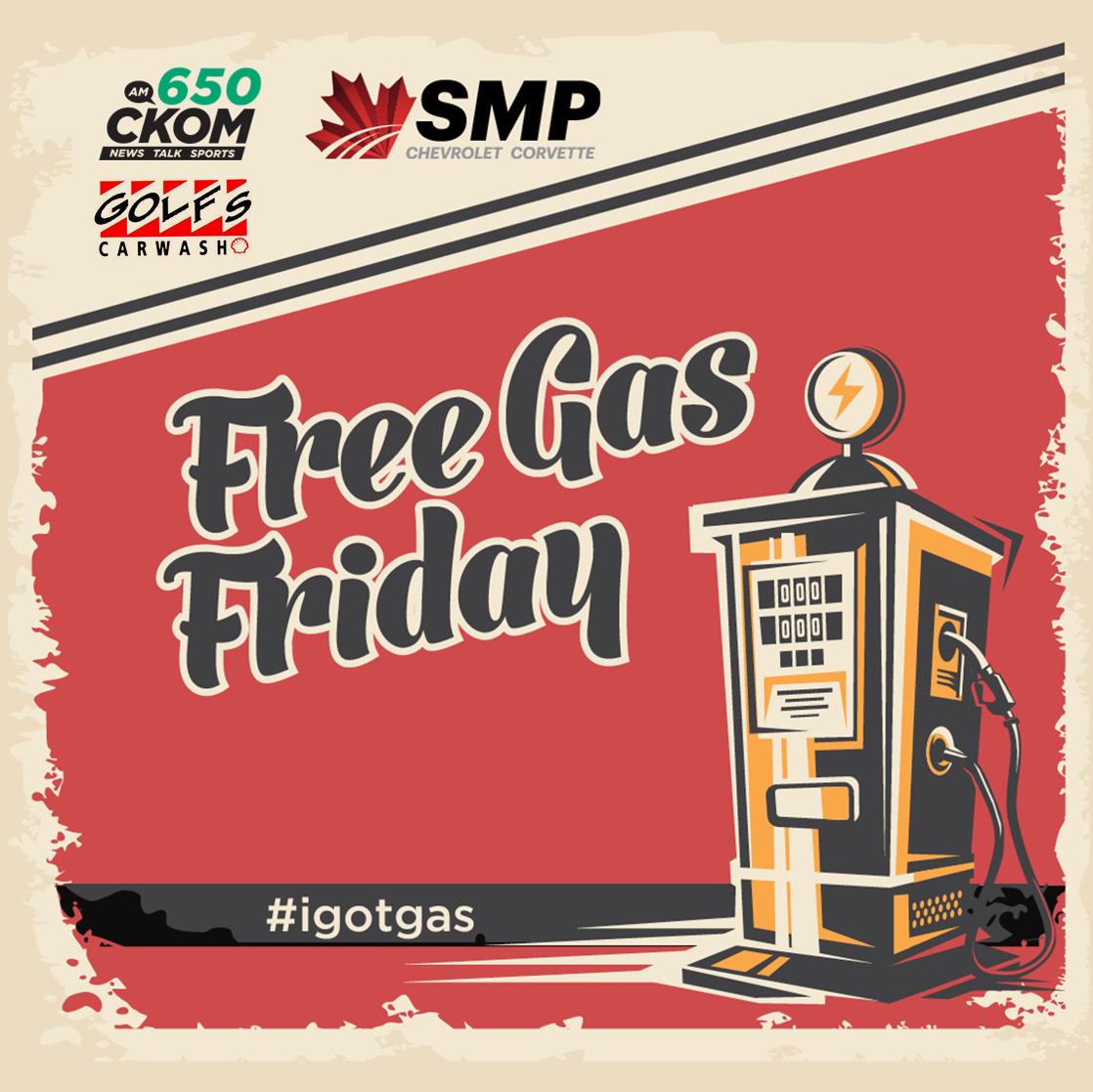 Free Gas Fridays