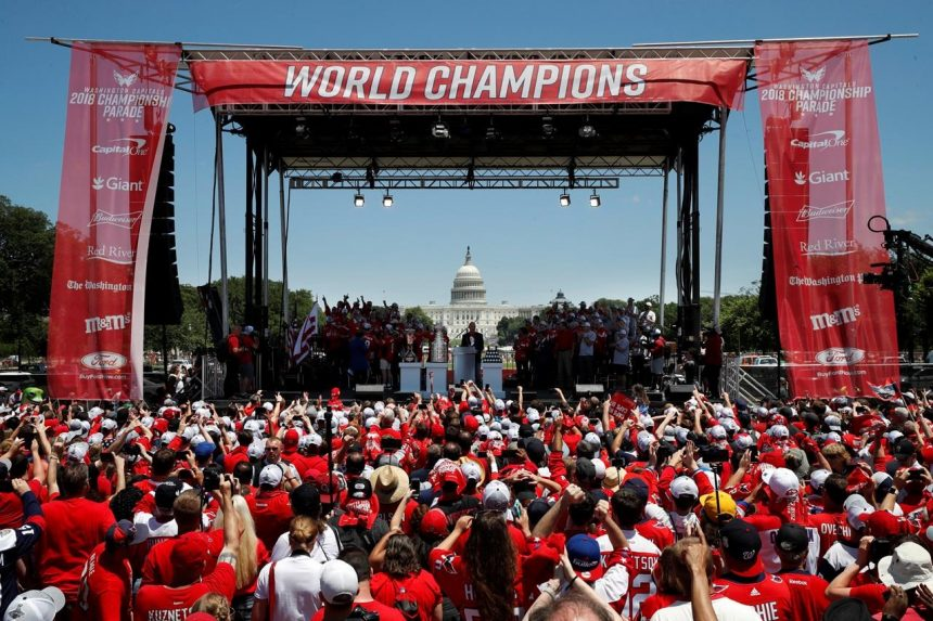 Fans turn out in droves to celebrate Cup-champion Capitals