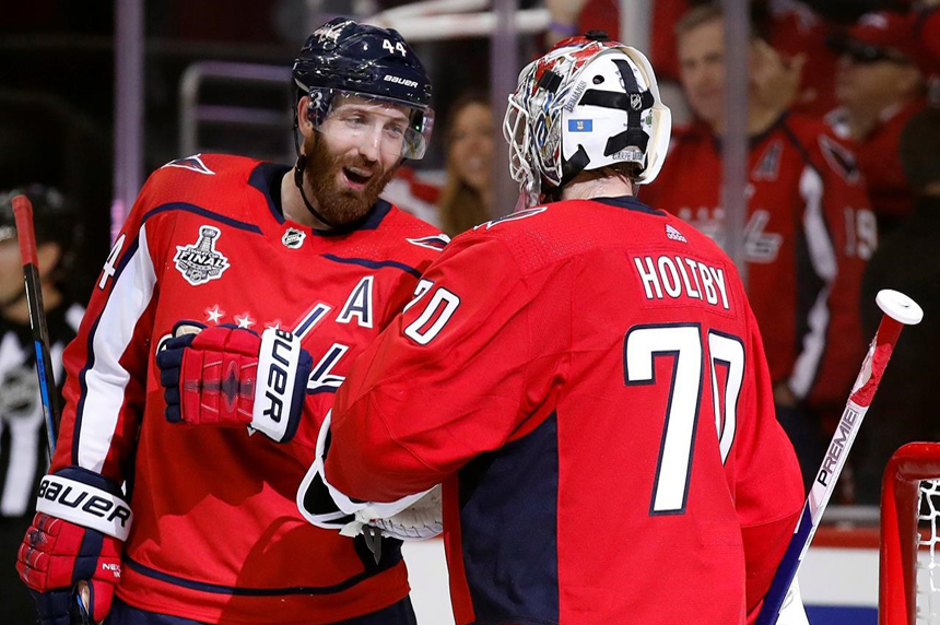 Capitals down Golden Knights to grab 3-1 lead in Stanley Cup final