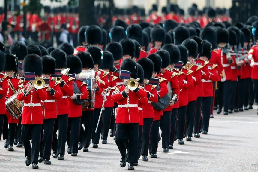 Thousands in London for Trooping the Color spectacle