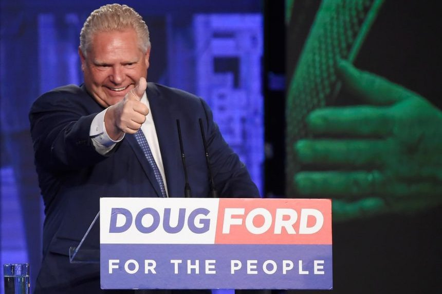 Doug Ford rides populist wave to victory in Ontario, Tories form majority