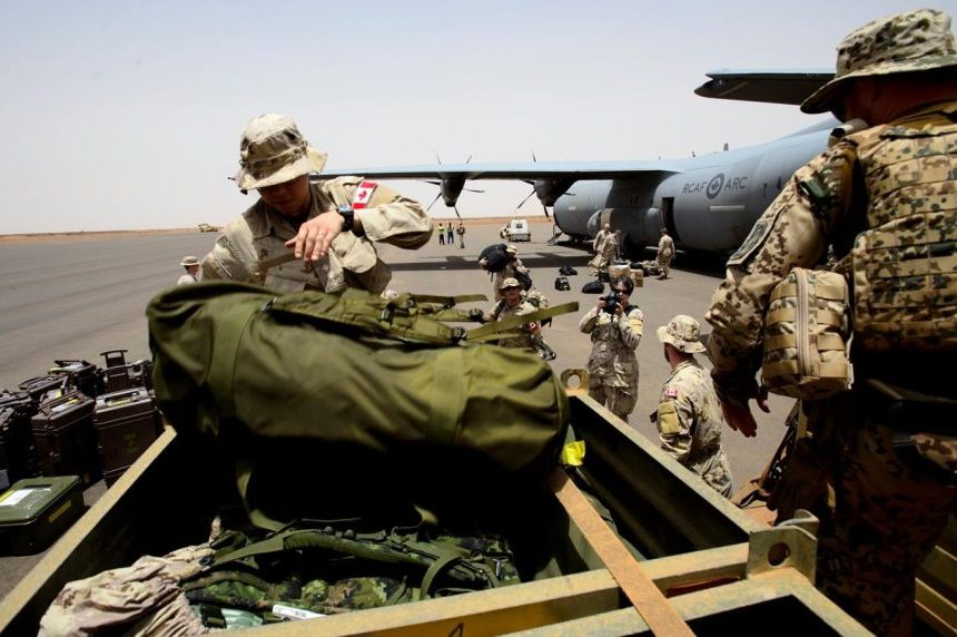 A dozen Canadian peacekeepers arrive in Mali as yearlong mission begins