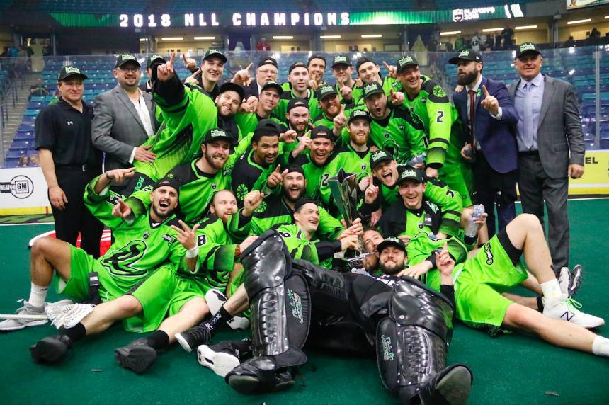 Saskatchewan Rush beat Rochester, claim third NLL title in four years