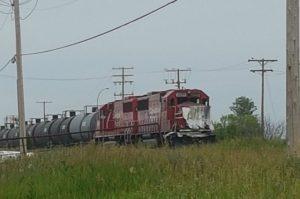 Yorkton train vs truck