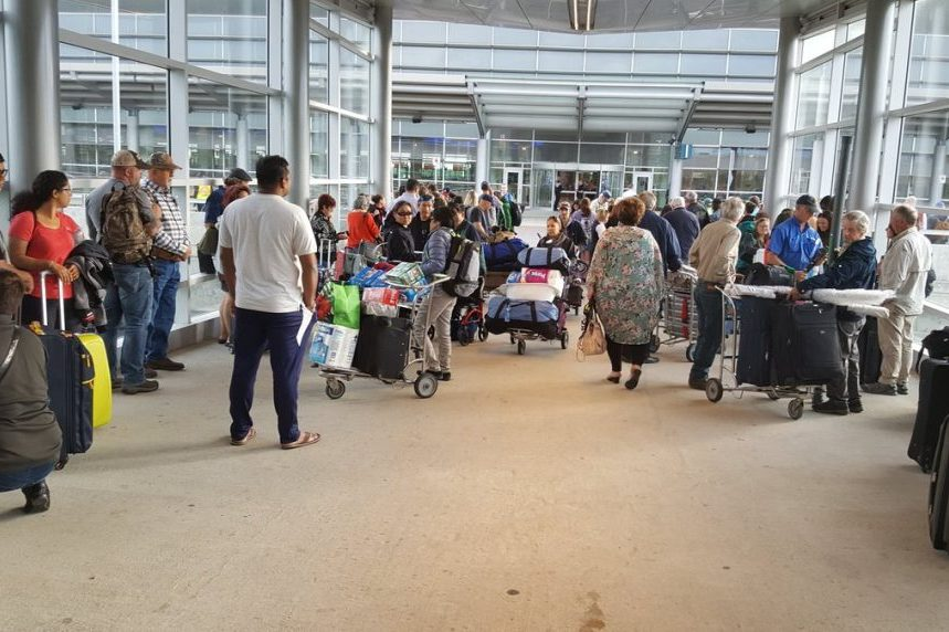 Evacuation at Winnipeg airport over following 'possible security incident'