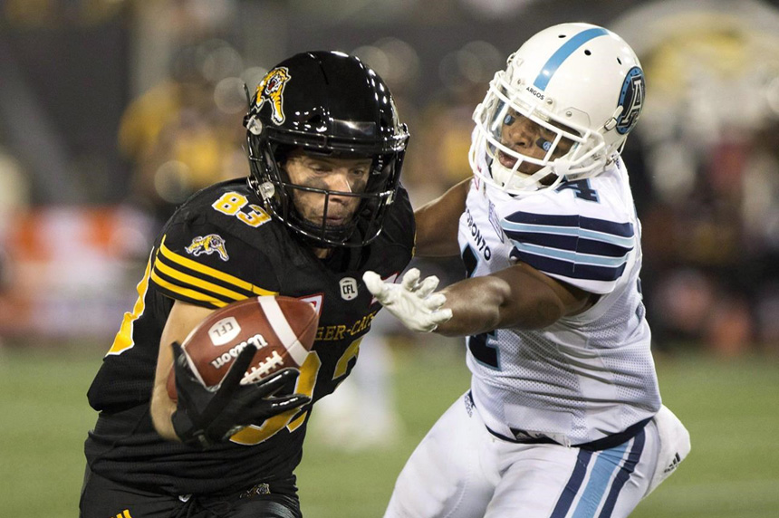 Longtime CFL receiver Andy Fantuz retires after 12-year career