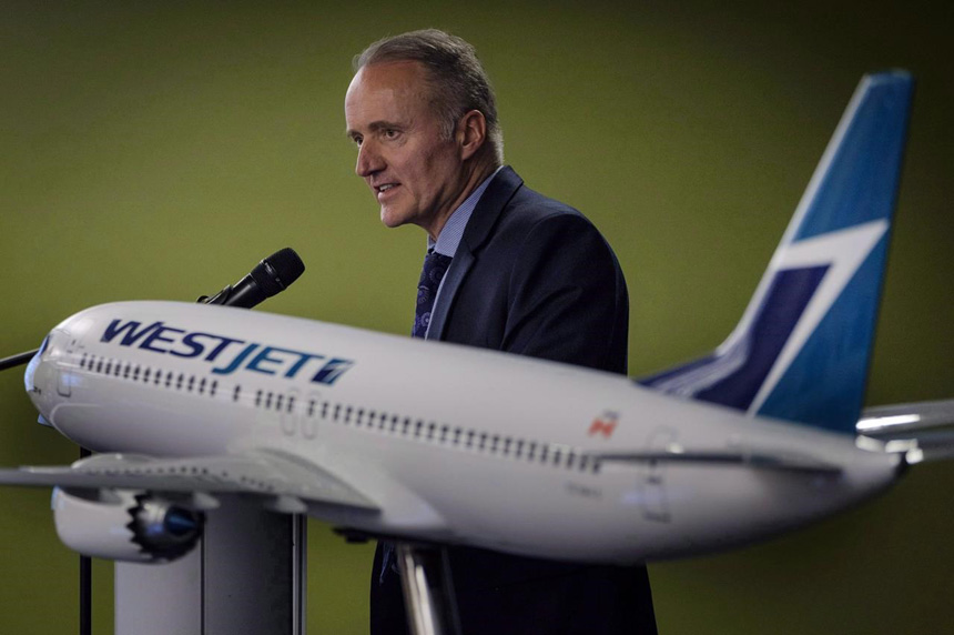 CUPE files application with CIRB to represent WestJet flight attendants