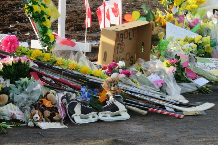 Semi driver charged in Humboldt Broncos bus crash