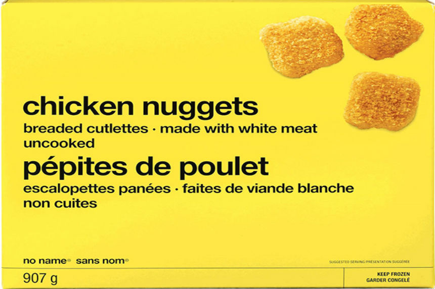 Loblaw recalls No Name chicken nuggets due to possible Salmonella contamination