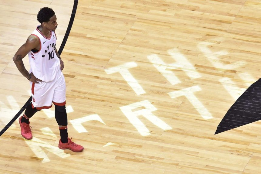 Former Raptors guard DeMar DeRozan says goodbye to Toronto on Instagram