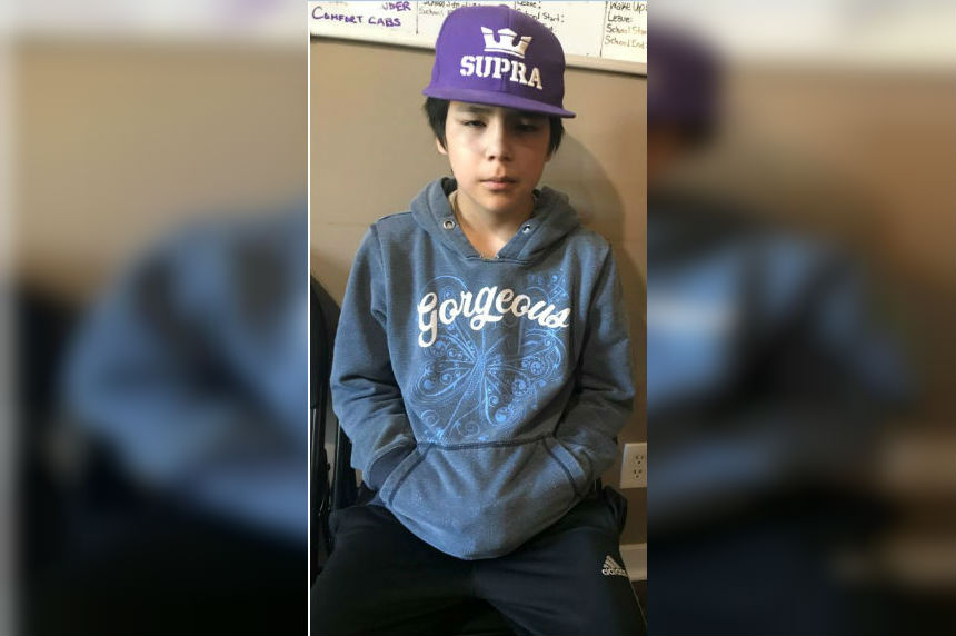 Missing 13-year-old boy located safe