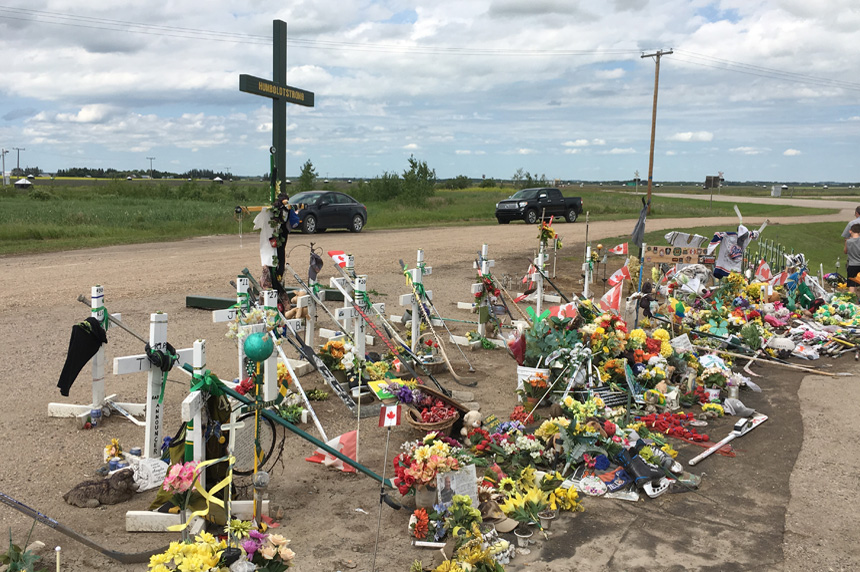 Owner of trucking company involved in Humboldt bus crash charged