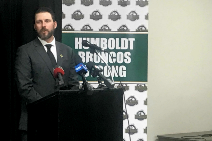 Nathan Oystrick named new Humboldt Broncos head coach
