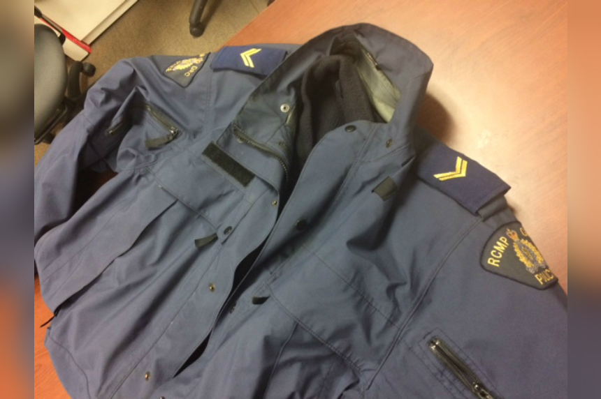 RCMP appeal to public to find stolen member's jacket