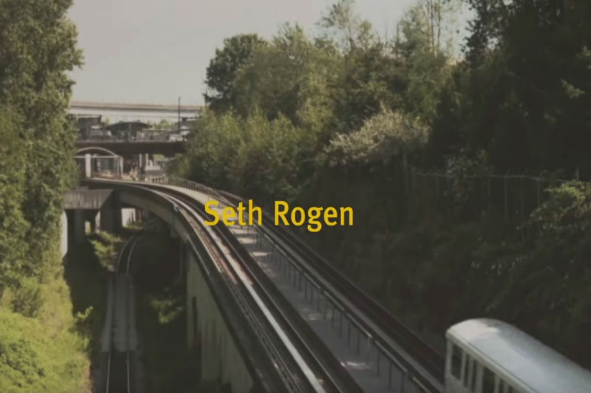 Comedian Seth Rogen to voice announcements on Vancouver public transit
