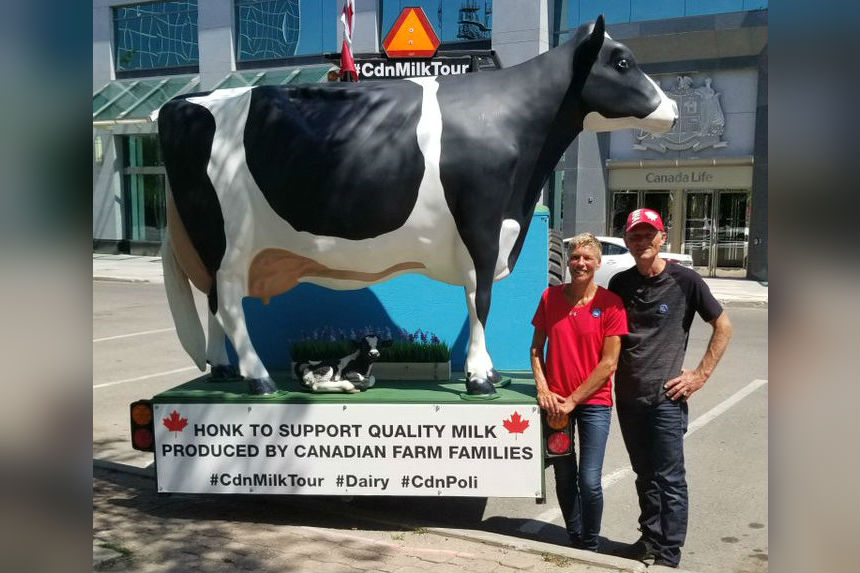 Tractor trip for Ontario couple promoting Canadian dairy ends in tragedy