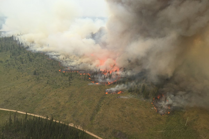 Canadian Armed Forces to help as nearly 600 wildfires burn across B.C.