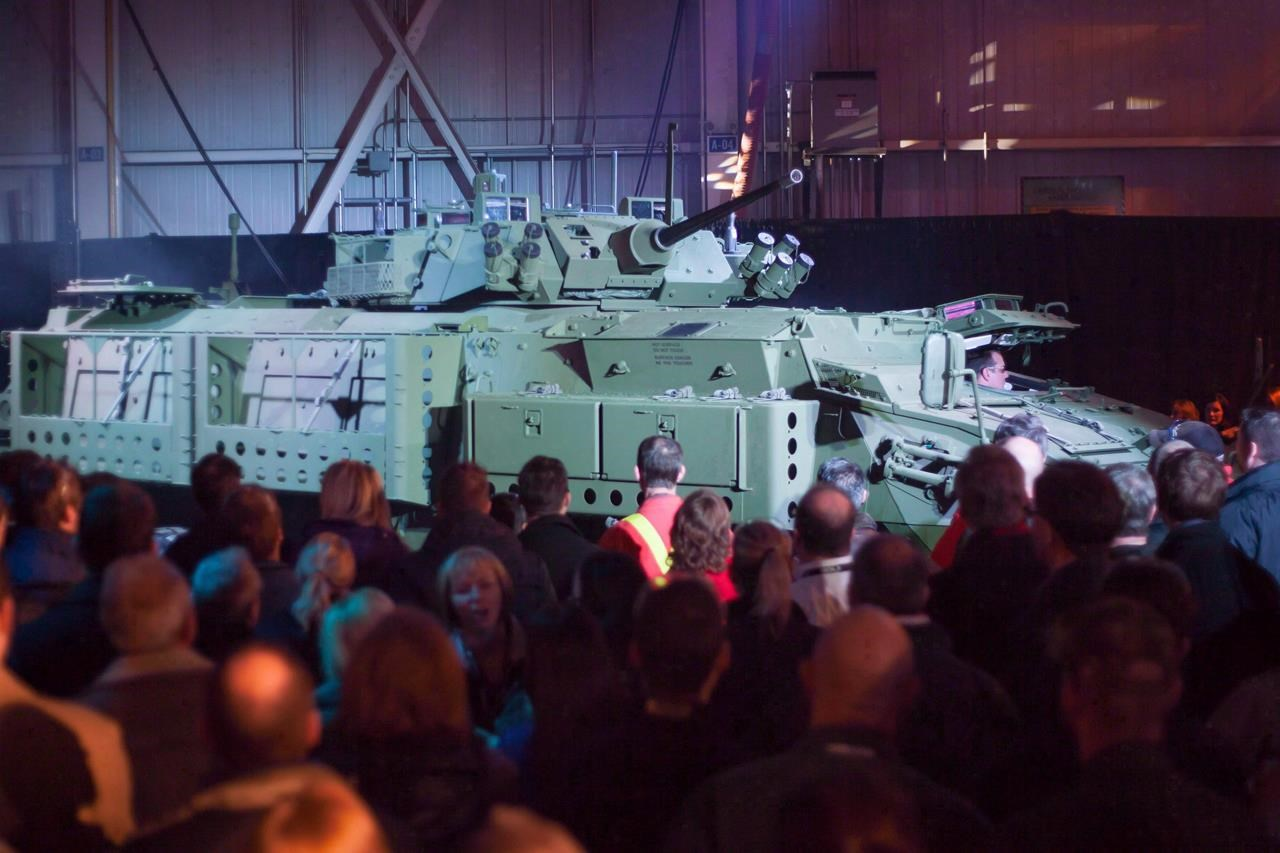Spat with Saudis hits home for armoured vehicle plant in southwestern Ontario