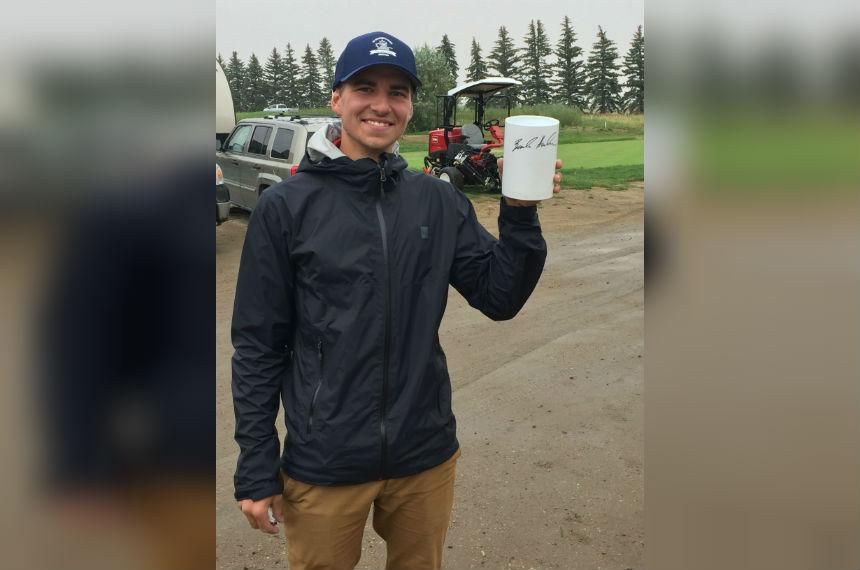 Man takes home unique souvenir from CP Women's Open