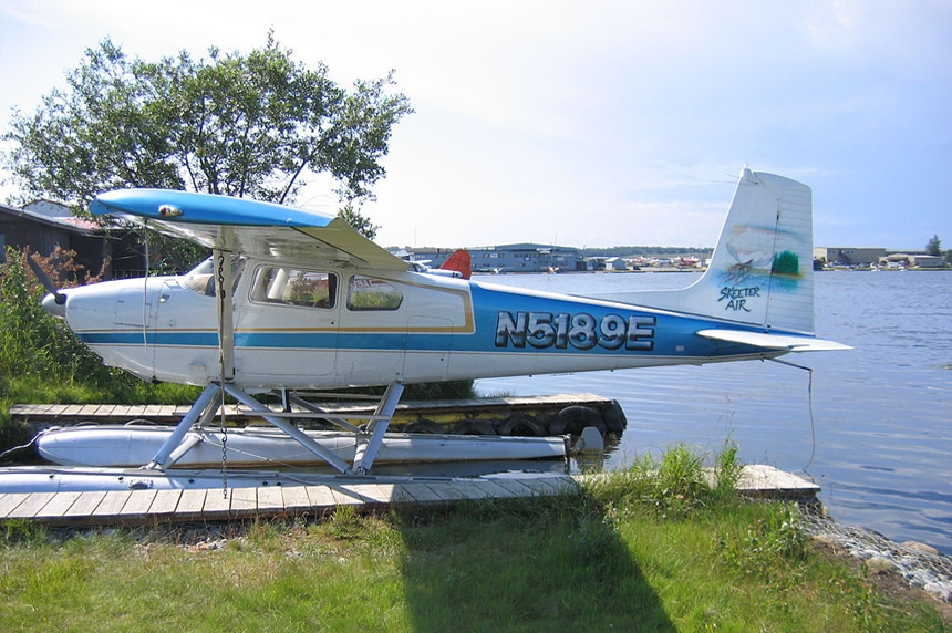 Sonar expert locates crashed plane in Sask. lake after 59 years