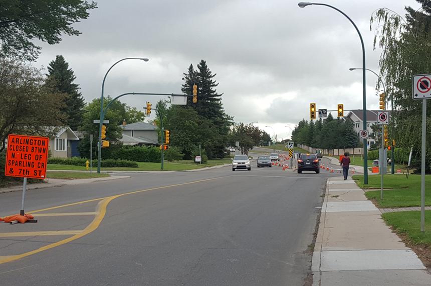 Drivers advised of road work on Taylor Street