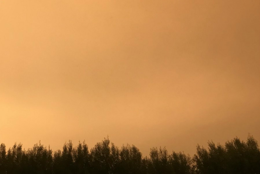 Wildfire smoke to linger into the weekend: Environment Canada