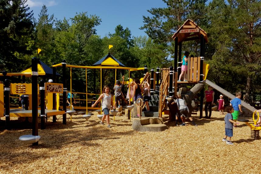 New playground opens at the Saskatoon Zoo
