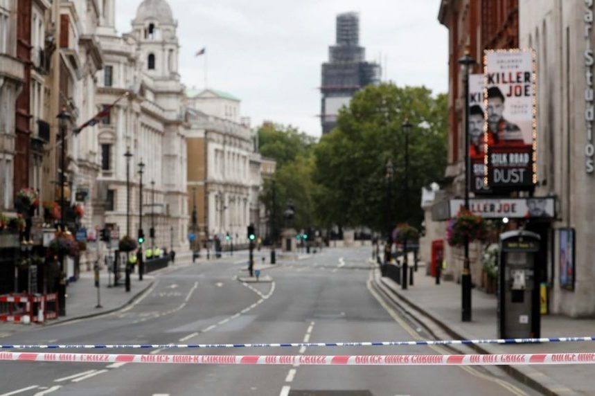 Crash outside parliament in London treated as terrorism