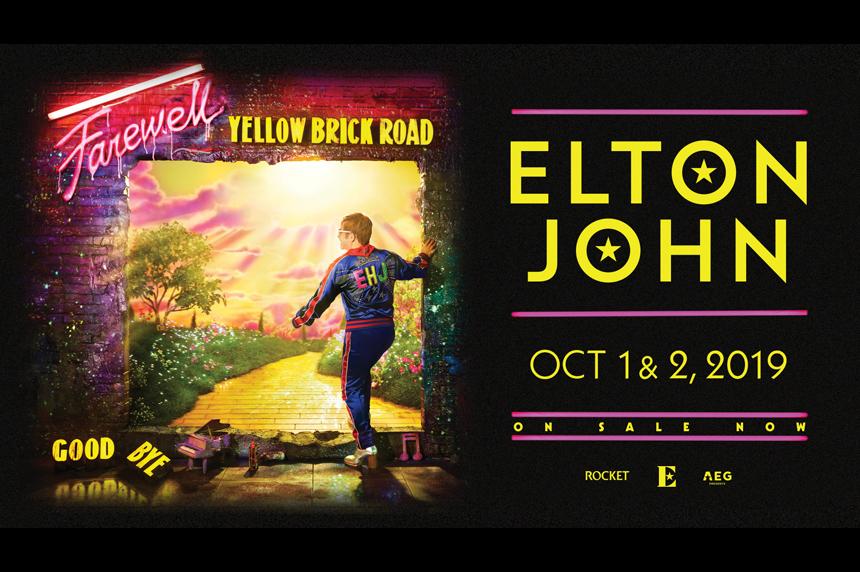 Elton John to play pair of dates in Saskatoon