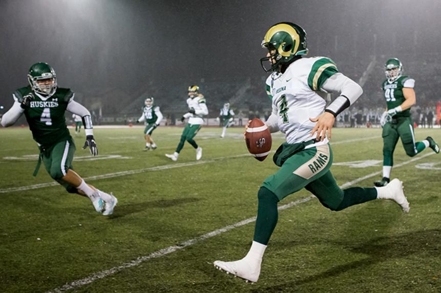 Huskies down Rams 33-20 in provincial football showdown