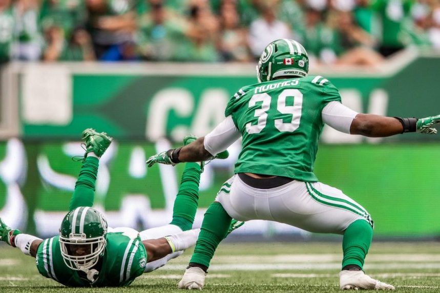Collaros leads Roughriders to comeback win over Bombers in Labour Day Classic