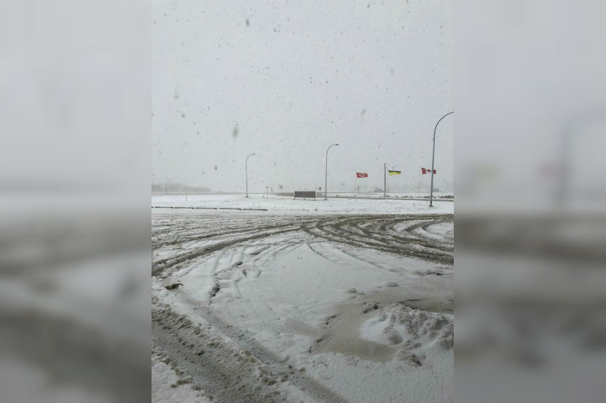 Central Saskatchewan recovers from early blast of winter