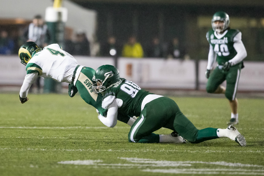 Huskies take on Dinos in key Canada West football clash