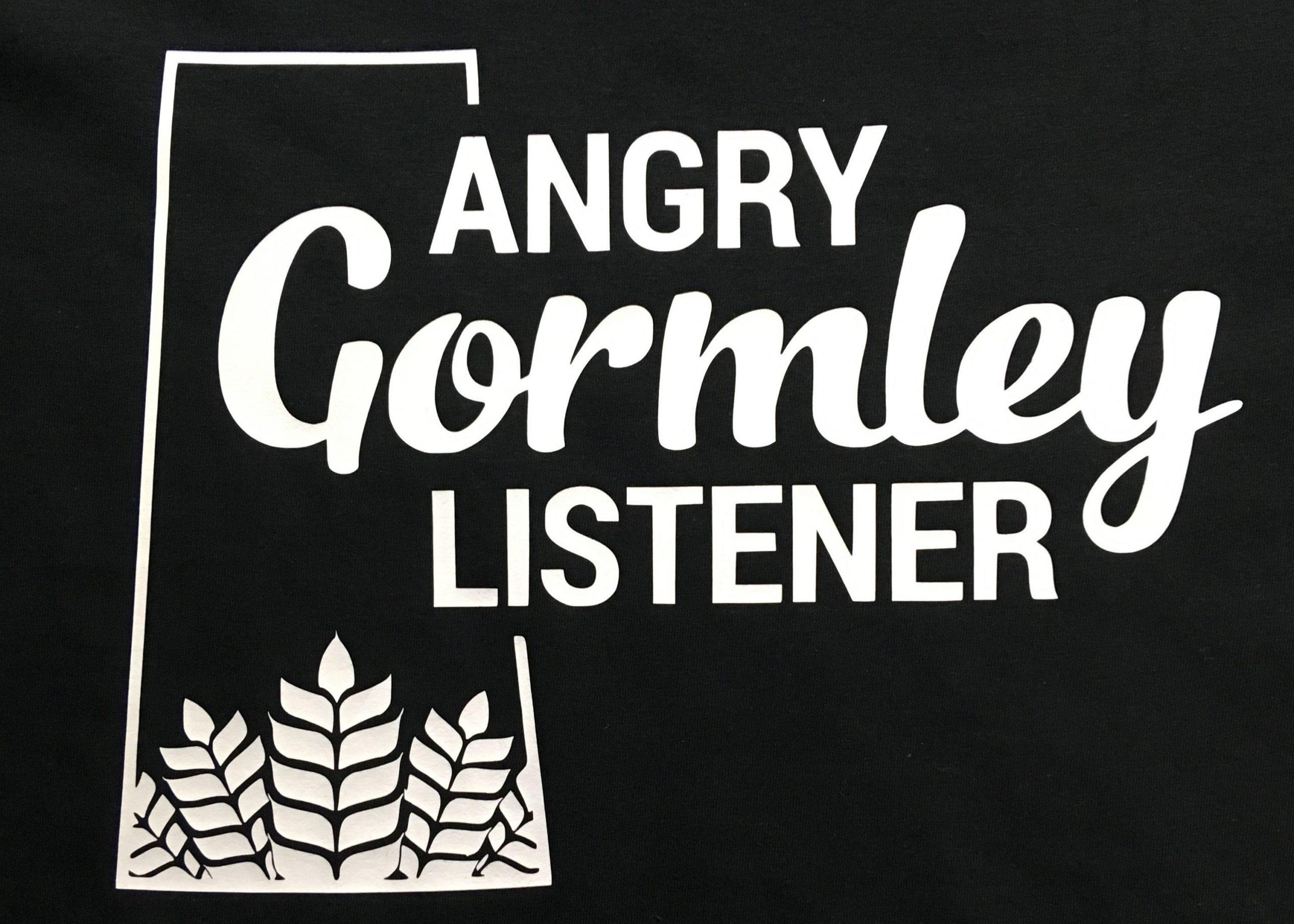 Angry Gormley Listener