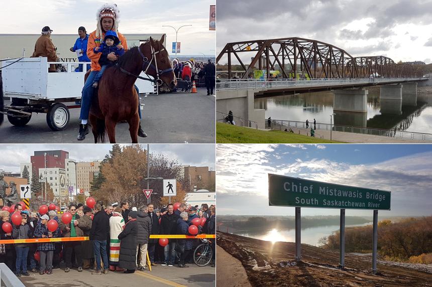 Saskatoon celebrates pair of bridge openings